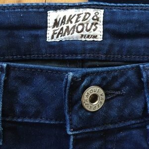 Naked Famous Denim The High Rise Skinny Jeans